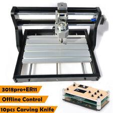Desktop CNC 3018 PRO Router Lasergravurmaschine PCB Holz DIY Carving Fräsen