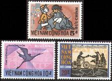 SOUTH VIETNAM 1971 Rural Mail 405-407 Phát Triển Bưu Chính Nông Thôn MNH