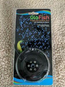 GloFish LED Bubbling Air Stone with 6 Blue LEDs