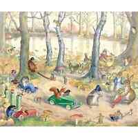 """""""Woodland Traffic""""  Print by  Molly Brett"""