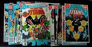 NEW TEEN TITANS #1-42 ANNUAL 1 & 2 TALES DC COMIC SERIES 1980 PICK CHOOSE COMIC