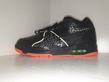 New Nike Air Flight 89 QS CT8478-001 Black/Orange Blaze Shoes