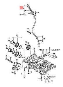 Genuine Oil Dipstick VW Passat 3C2 3C5 03G115611AB