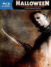Halloween: The Complete Collection (Blu-ray Disc, 2014, 15-Disc Set, Limited De…