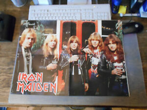 Metal ++ Poster ++ Iron Maiden + Judas Priest ++ RAR ++ 14 ++