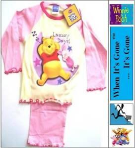 Boys Girls Winnie The Pooh Briefs Knickers Pyjamas PJs Hat Shoes lot 1-8 Y