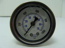 "202L-158M 1.5"" Glycerin Filled Stainless Steel Case Gauge 1/8""NPT CBM 0/1000 psi"