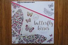 Kaisercraft Kaisercolour BUTTERFLY KISSES 25X25CM colour coloring book CL529 NEW