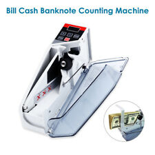 Mini Money Cash Counter Handy Bill Cash Registers 600pcs/min Digital LED Display