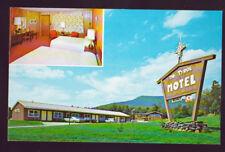 MANDON VERMONT VT The Tyrol Motel US 4 Rutland 2 Views Cars Vintage Postcard