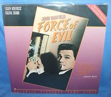 FORCE OF EVIL REPUBLIC PICTURES HOME VIDEO LASER DISC 1949