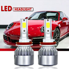 2 x H11 H9 H8 200W 20000LM LED Headlight Bulb Kit Low Beam Fog Light 6000K White