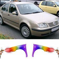 VW BORA 1998-2005 KOTFLÜGEL VORNE PROFESSIONELL LACKIERT WUNSCHFARBE AUTOLACK