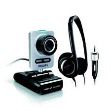 Webcam SPC1005NC/00 PHILIPS 5 MEGA PIXELS + CUFFIA MULTIMEDIALE PHILIPS SHM3400