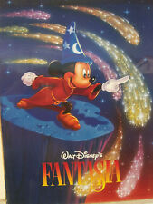 """Fantasia Disney Mickey Mouse 18"""" by 24"""" new poster Vintage"""