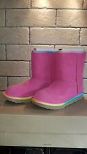 Pink rainbow Classic UGG Australia Boots Ladies/girls UK 3 BNIB