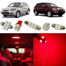 14x Red LED Interior Lights Package Kit for 2007-2012 Acura RDX + Tool AR2R
