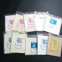 Lot of Cross Stitch Fabric Aida 14 11 22 count White Cream Beige Regency Charles