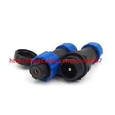 SD13 1pin Waterproof connector, IP67 High Voltage Connector Bulkhead hull plug