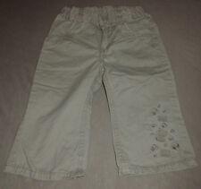 Graue Jeanshose mit Schmetterlingen - Größe 86