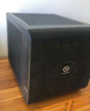 Thermaltake Core V21 SPCC Cube Gaming Computer Case (CA-1D5-00S1WN-00) - Black