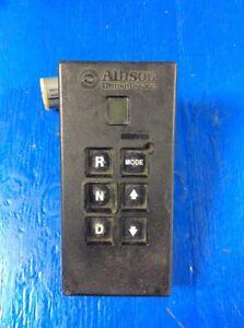 Allison Transmission Remote Shift Pad 29538022-USED