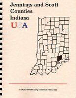 IN JENNINGS/SCOTT COUNTY INDIANA~VERNON~SCOTTSBURG~1889 HISTORY/BIOGRAPHY + WPA