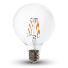 V-TAC DEL Ampoule g95 e27 6 W Filament, 2700k, 550 LM, 300 °, verre, Bon état