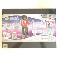 Art Designer Kit Crayola Fashion Superstar Design Clothes W Free App 71662102913 Ebay