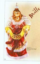 """S99-033-A. Slavic Treasures """"Millennium Angel"""" Ornament."""