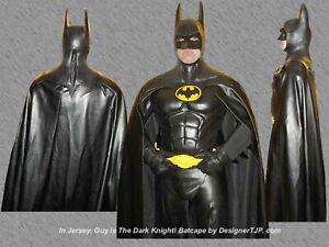 Batman Cape 1989 Keaton ,1995 Kilmer & 1997 Clooney Style