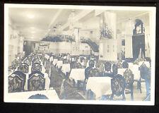 HUNGARY 52-BUDAPEST -Hotel Bristol , Café-Restaurant (Real Photo (RPPC)