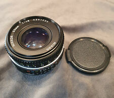 Nikon NIKKOR 50mm 1:1 .8 AI-S