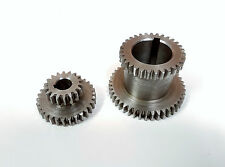 2 Speed - ALTO-BASSO Metal Gear Set - per cj18 SERIE mini-tornio
