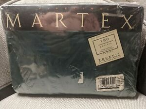 New Bed Set Hunter Green Full Size RV Camper Deep Fitted & Flat Sheet & 2 P Case