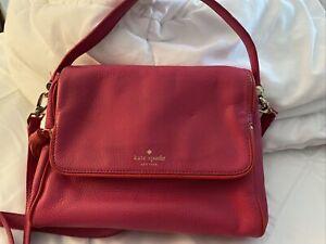 KATE SPADE Chester Street MIRI leather pink raspberry handbag purse shoulder bag