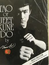 Collectible Tao Of Jeet Kune Do By Bruce Lee 1975 Fifty-ninth Printing 2007