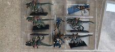 Warhammer Fantasy Dark Elf Elves Cold One Cavalry Knights Painted