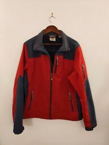 Black Diamond Double Diamond Men's Size Large Coat Soft Shell Jacket Red