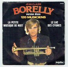 Jean-Claude BORELLY Trompette 45T PETITE MUSIQUE NUIT - LAC CYGNES - DELPHINE