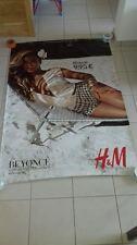 AFFICHE H&M BEYONCE 4x6 ft Shelter Original Fashion Advertising Vintage Poster