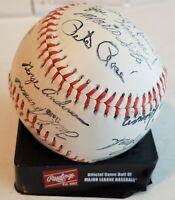 1977 Cincinnati Reds Team Facimile Stamped Signed Baseball Big Red Machine HOF