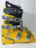 Head Worldcup TI N97 Yellow Ski Boots Size 26.0 300mm