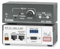 Extron MTP Series MTP RL 15HD A SEQ MTP Twisted Pair Receivers VGA and Audio