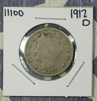 1912-D LIBERTY V NICKEL NICE COLLECTOR COIN FREE SHIPPING