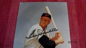 Boog Powell sl. smudge Signed Orioles 8x10 Baseball Photo -Guaranteed Authentic