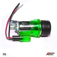 GREEN 12v Cigarette Lighter for VW Golf Passat Polo Vento Bora MK2 MK3 MK4 Jetta