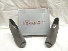 Breckells High Heel Stiletto Bootie Open toe Shoes - Size 7 1/2