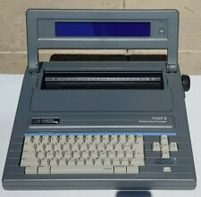 Smith Corona Pwp 3 Word Processor Typewriter W Cover Gray Quiet Excellent