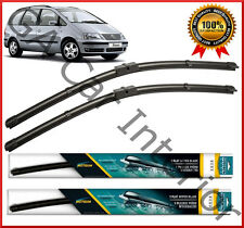 VW Sharan 2001 2008 2007 2006 2005 2004 2003 Front Pair Flat Aero Wiper Blades